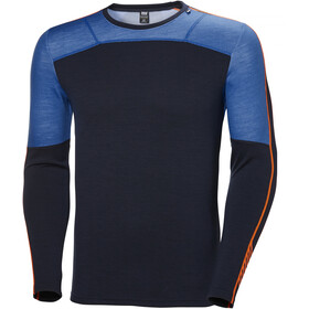 Helly Hansen Lifa Merino Crew Shirt Herre electric blue